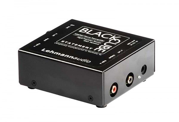 Lehmannaudio Black Cube Statement