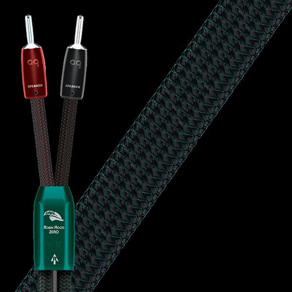 Audioquest Robin Hood Zero + Bass Bi-Wire Bundle