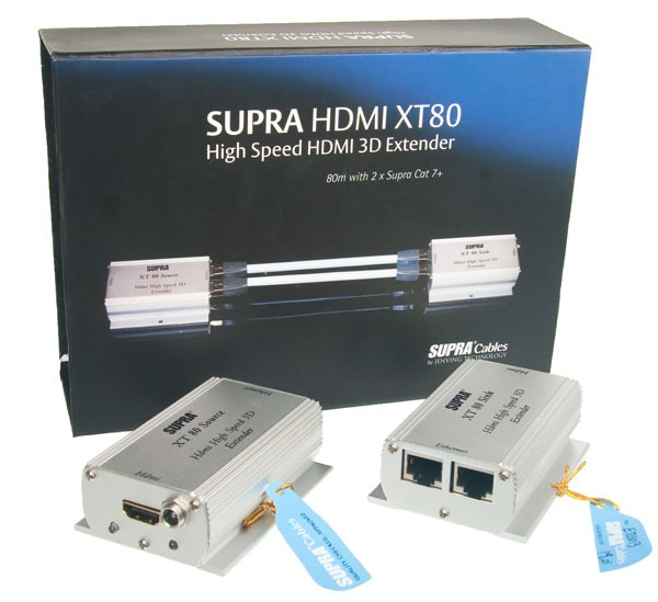 Supra HDMI Extender XT 80