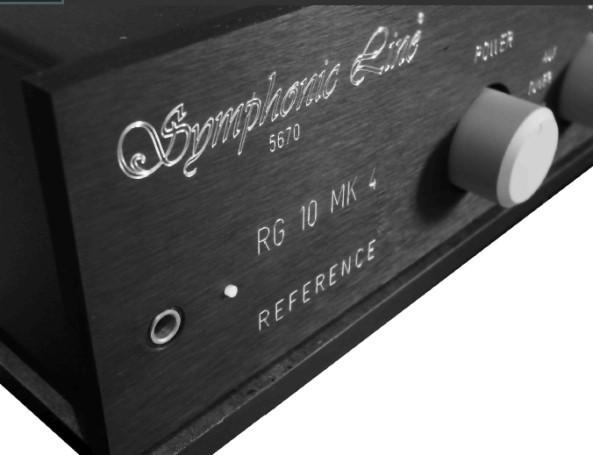 Symphonic Line RG10 MK4 Reference mit Reference Vorstufenmodul