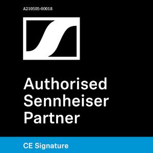 Logo Sennheiser Authorisierter Hifi-Fachhändler Signature