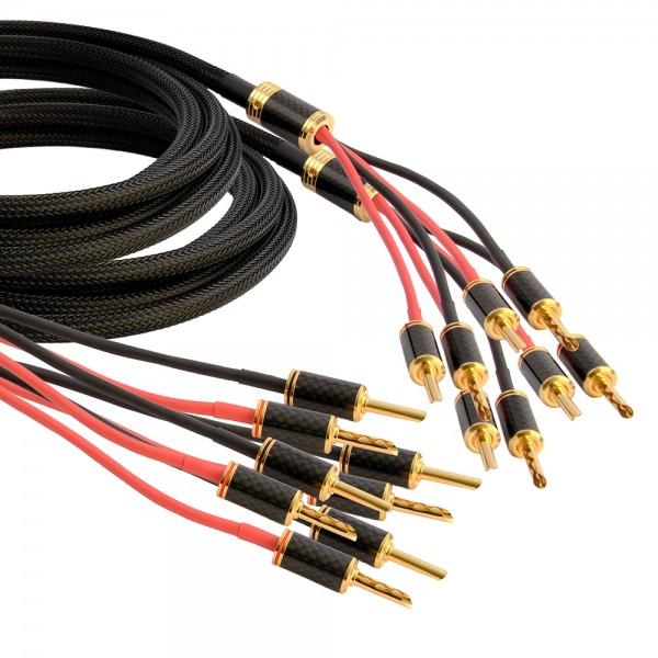 Goldkabel Speaker Black Edition Bi-Amping