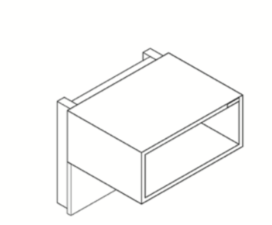 creaktiv Systems BoxIT Wall - Hifi Rack