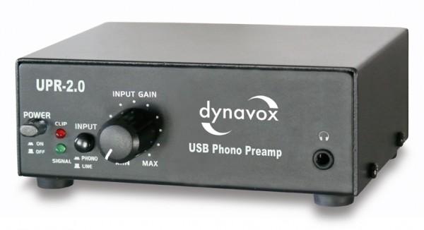Dynavox USB-Phono-Vorverstärker UPR-2.0