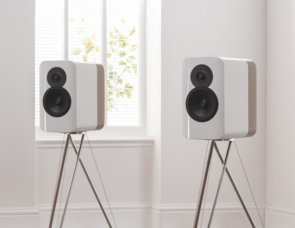 Q Acoustics Concept 300 Kompaktlautsprecher inkl. Ständer