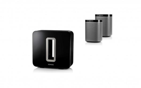 Sonos Surround Bundle Sub + 2x Play:1