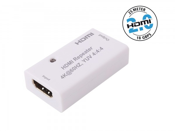 InAkustik Exzellenz Profi HDMI 2.0 Repeater - 18 GbpS