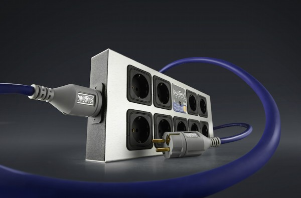 IsoTek EVO3 Corvus Steckdosenleiste mit Netzkabel