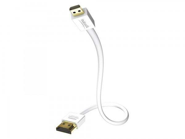 InAkustik Premium XS Standard HDMI Kabel mit Ethernet - Micro