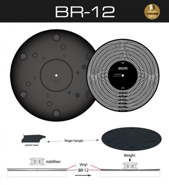 Oyaide BR-12 Plattentellerauflage