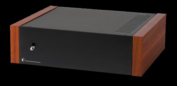 Pro-Ject Power Box DS2 Sources Kundenrückläufer - schwarz-walnuss