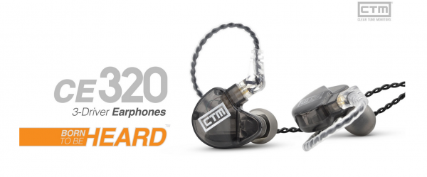 Clear Tune Monitors CTM CE320 - InEar Kopfhörer