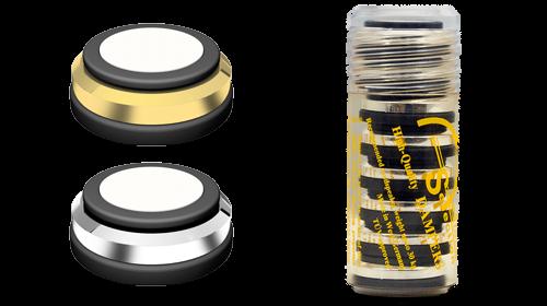 Goldkabel Dämpfer klein 8er Set