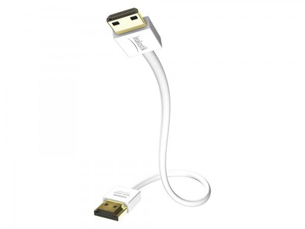 InAkustik Premium XS Standard HDMI Kabel mit Ethernet - Mini