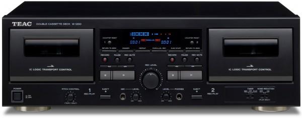 Teac W-1200 - Doppel-Kassettendeck