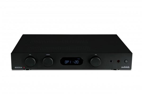 Audiolab 6000A schwarz front-oben