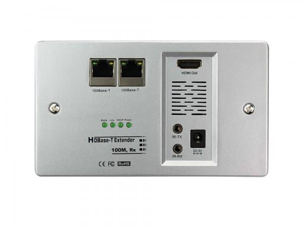 InAkustik Exzellenz HD Base-T Receiver IP-Wanddose