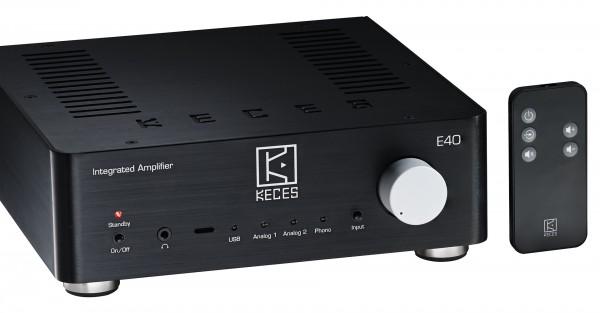 Keces E40 - Vollverstärker